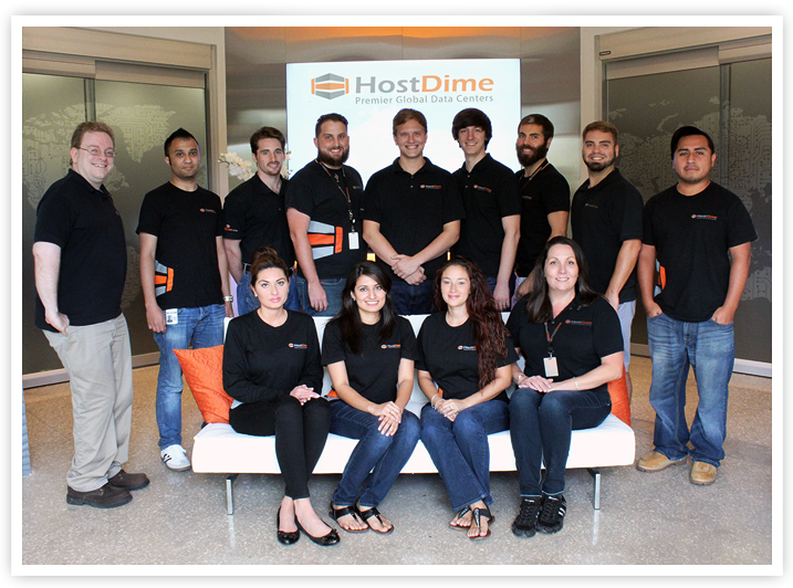 hostdime team in action